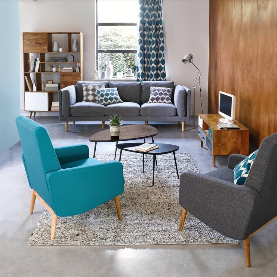 60's Curved Furniture