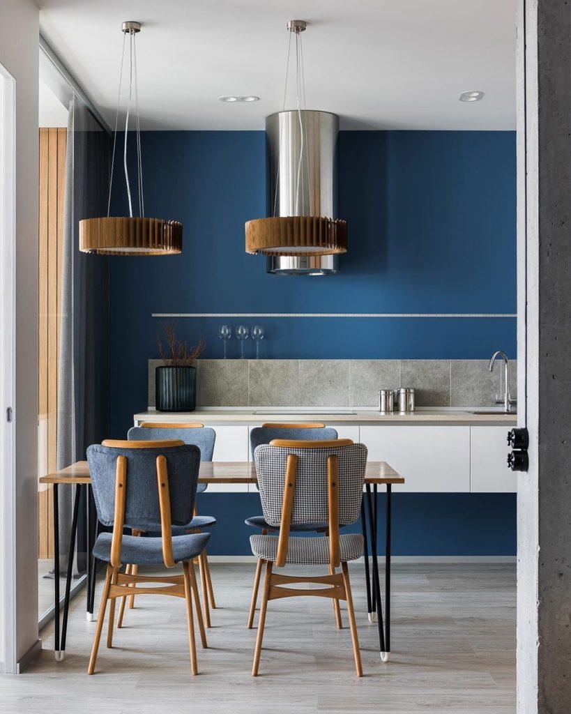 Classic Blue Kitchen